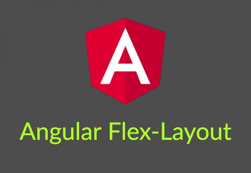Create a sidebar layout using Angular Flex-Layout